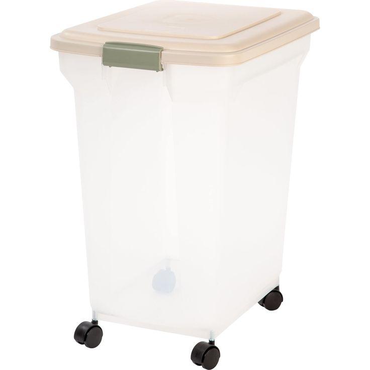 Iris 67 Quart Airtight Pet Food Container