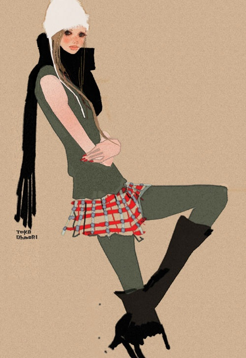 Illustration by Toko Ohmori