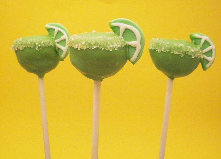 It's 5 o'clock somewhere, and these tequila-infused margarita cake pops are just the way to celebrate.