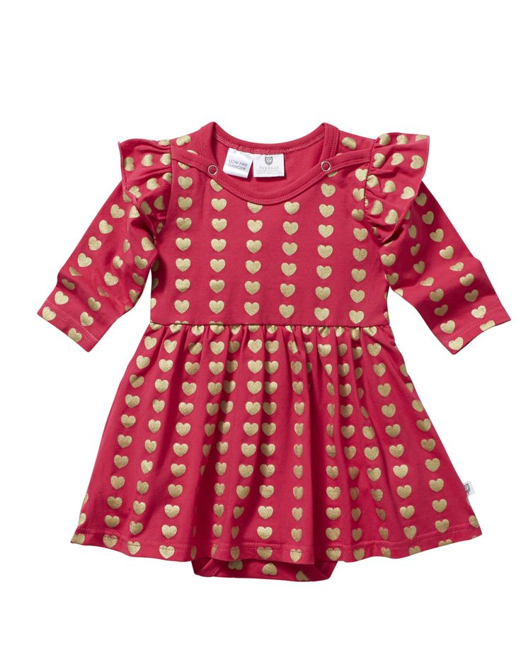 Wear Kids Play - Hootkid | Sweetheart Romper, $39.95 (http://www.wearkidsplay.com.au/products/hootkid-sweetheart-romper.html/)