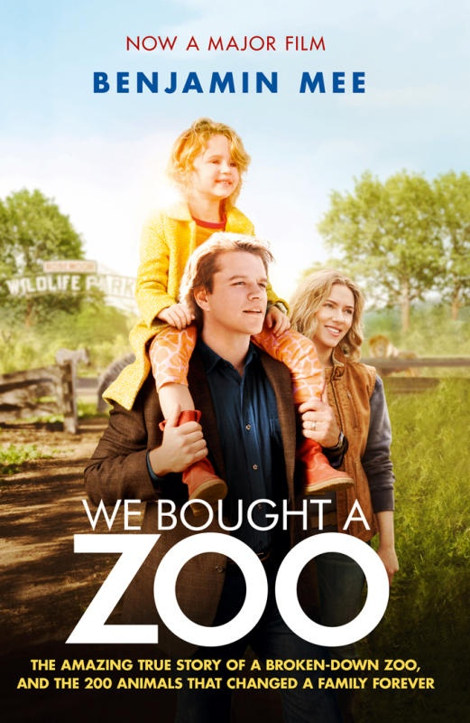 Our book reviewer reads We Bought A Zoo, and reckons that the book is better than the movie. --> http://bit.ly/IMG79h
