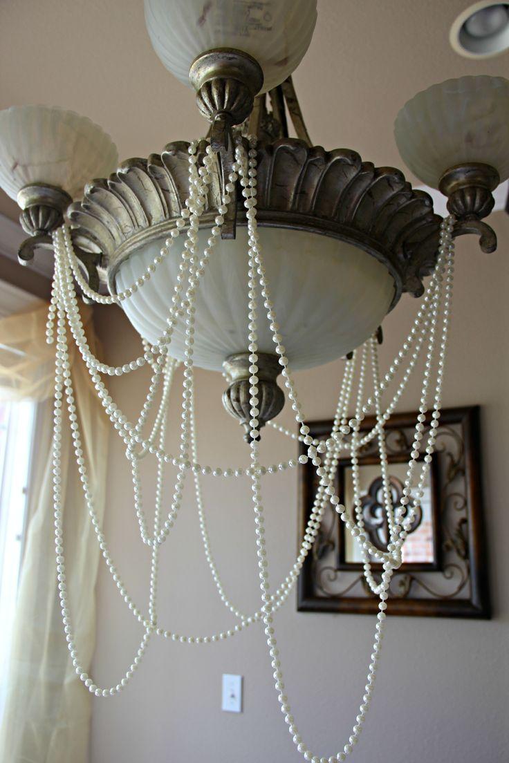 Vintage mermaid bridal shower decor