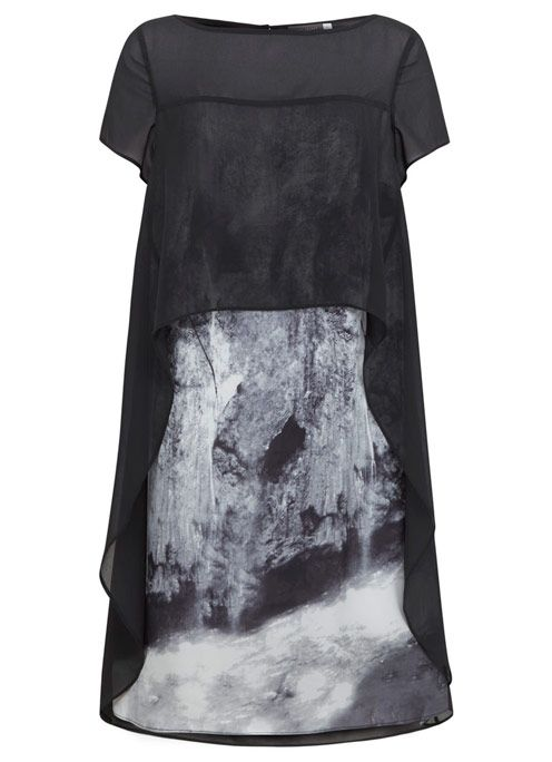 Mint Velvet Noa Cape Top Dress