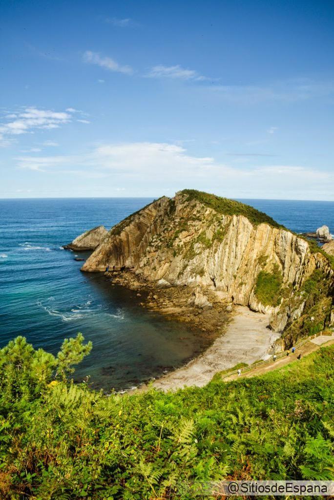 Una de las playas mas bonitas de #Asturias, Playa del #Silencio: http://bit.ly/1n7ByW0 #Spain