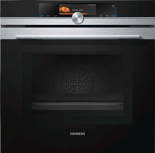 Siemens Combi Microwave Oven with Steam - HN678G4S1 - Metelerkamps