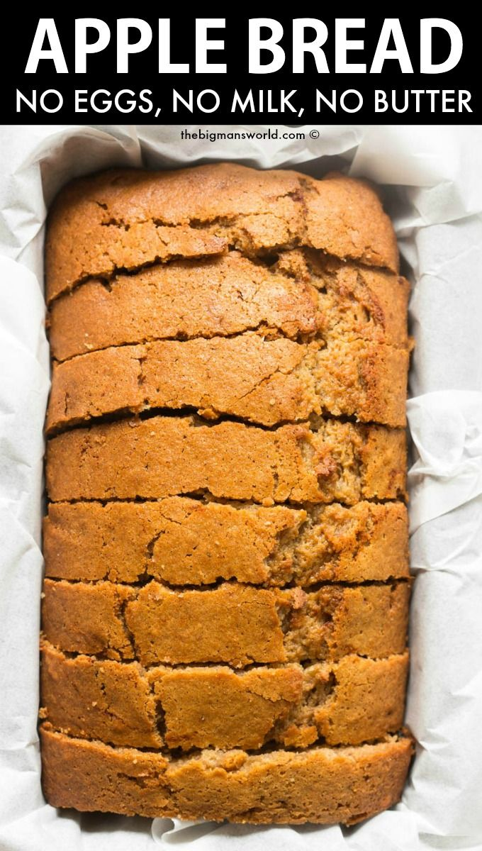 Applesauce Bread No Eggs Or Butter The Big Man S World Recipe In 2020 Bread Recipes Sweet Bread Recipes Homemade Applesauce Bread