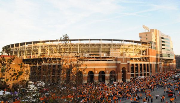 Neyland Stadium in Knoxville, TN home of Tennessee Volunteers Football. Get your Tennessee Football tickets from SecSeats.com