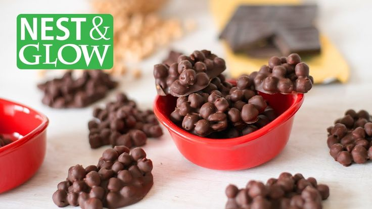 How to Make 2-Ingredient Protein Candy - Chickpea and Chocolate Clusters