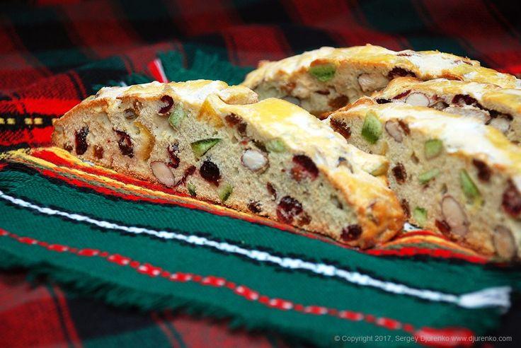 Бискотти - необыкновенно вкусное и ароматное итальянское сухое печенье без жира и разрыхлителей, с большим количеством орехов и цукатов