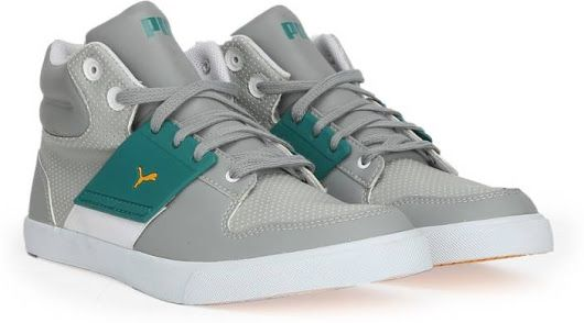 Puma El Ace 2 Mid PN II DP Mid Ankle Sneakers For Men - Buy limestone gray-blue glass Color Puma El Ace 2 Mid PN II DP Mid Ankle Sneakers For Men Online at Best Price - Shop Online for Footwears in India | Flipkart.com