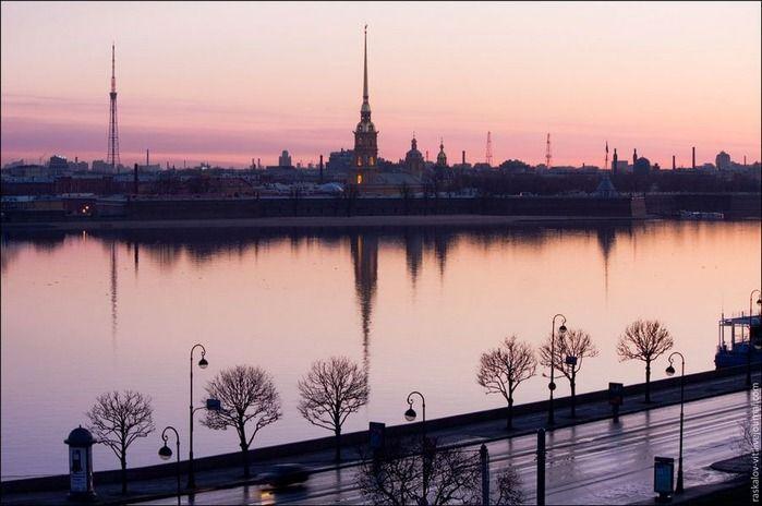 Виды Петербурга фото руфера Виталия Раскалова 16