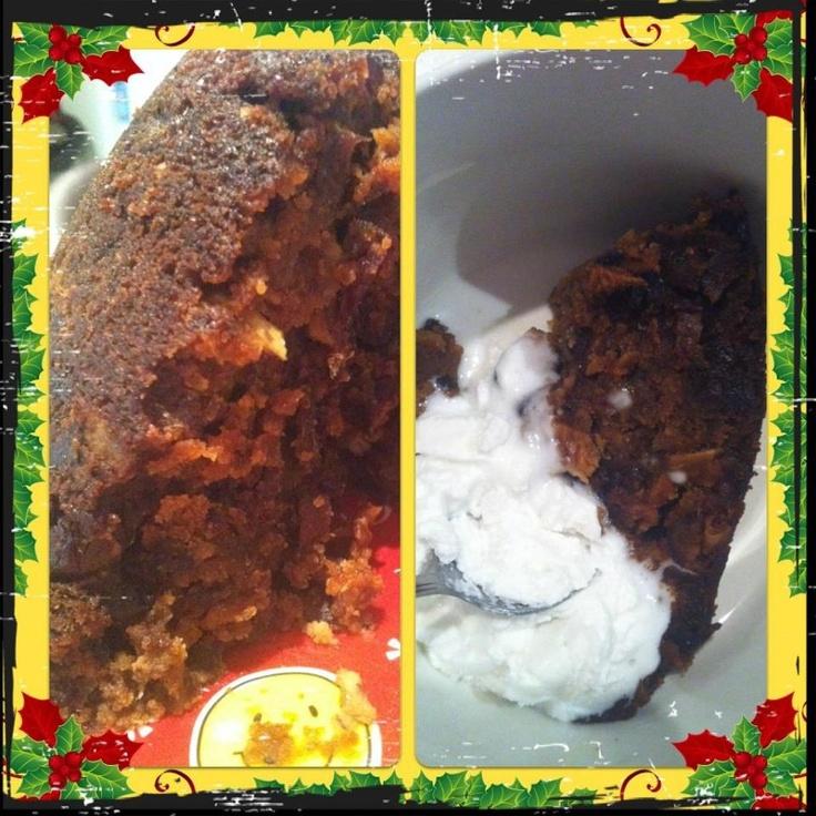 Holly Jolly Christmas -  chrissi pud.....sugar free, gluten free, grain free, soy free, dairy free, egg free....definitely not taste free!