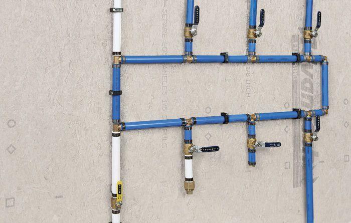 Build Your Own Pex Manifold Pex Tubing Plumbing Pex Plumbing
