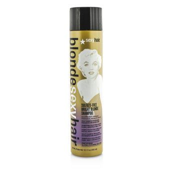Blonde Sexy Hair Sulfate-free Bright Blonde Shampoo (for Blonde Highlighted And Silver Hair)