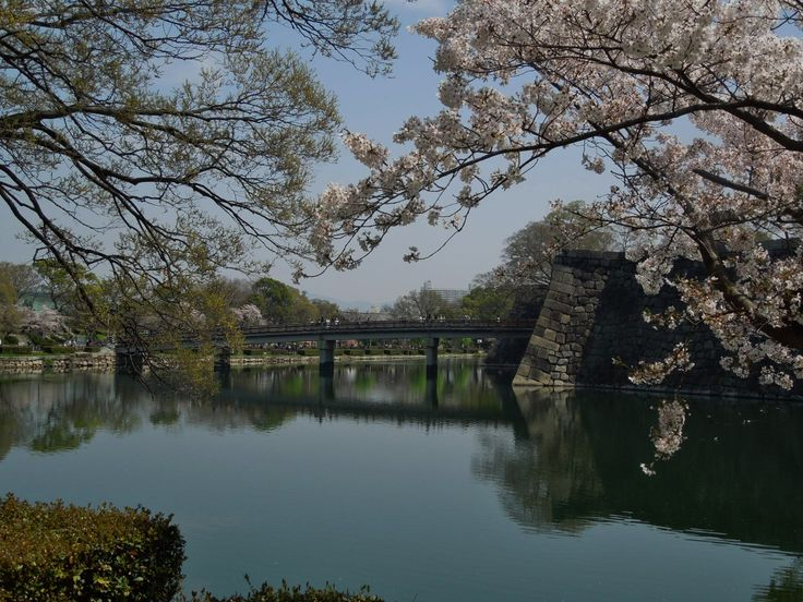 Aoya Gate to Osaka Castle.