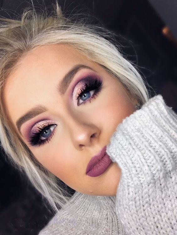 86 PERFEKTE AUGEN-MAKEUP-IDEEN FÜR 2019 – Seite 28 von 86 EYESHADOW LOOKS Augen-Makeup-Makeup-Tricks Augen-Makeup-Ideen
