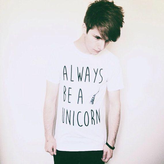 Altijd een eenhoorn tshirt unicorn shirt grappige shirt shirt