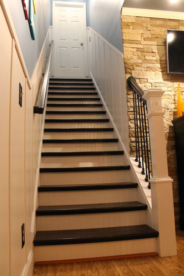 Best Refinished Staircase Reveal Paint Speckled Pawprints 400 x 300