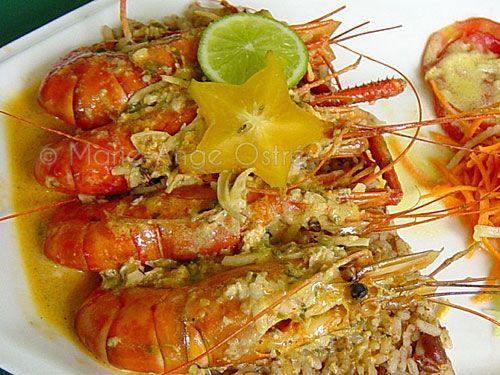 Recette du curry de ouassous, Guadeloupe - Marie-Ange Ostré