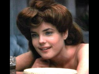 Young Elizabeth McGovern