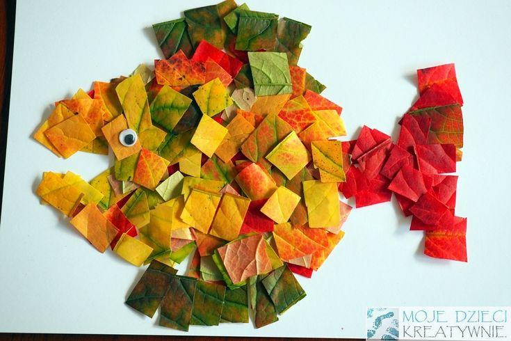 Mozaika z liści