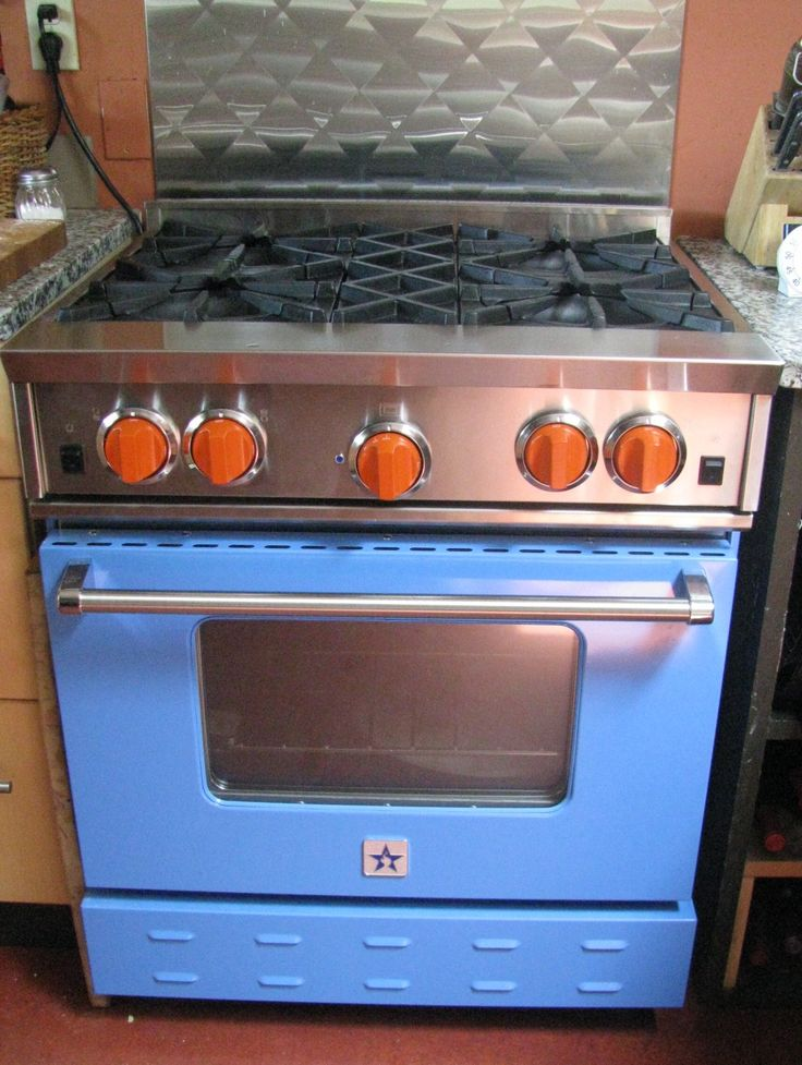 custom knobs from blue star made in since 750 range and knob colors to choose from