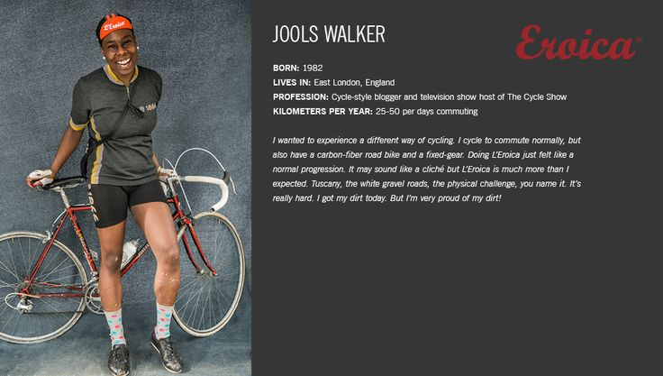 """Featured on the Giro™ Official Site as one of """"The People of L'Eroica Gaiole"""" - Ooooh!"""