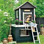 pink-and-small-outdoor-playhouses-for-girls