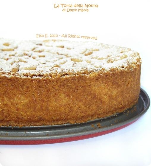 Dolce Mania per la Pasticceria: Torta della Nonna con pinoli, la ricetta originale