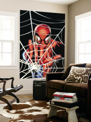 Amazing Spider-Man Family No.1 Cover: Spider-Man Wall Mural by Adi Granov at AllPosters.com