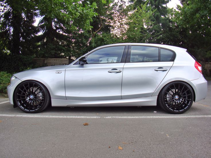 """bmw 130i with 19"""" breyton and H&R"""