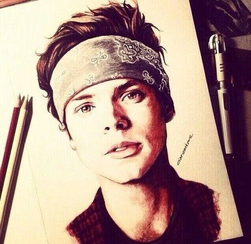 ash drawing that is so amazing