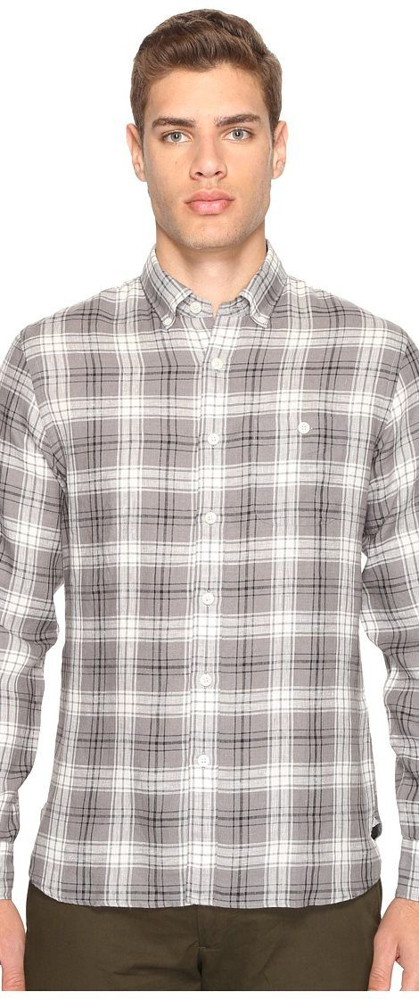 Todd Snyder Linen Check Shirt (Black/Grey) Men's Clothing - Todd Snyder, Linen Check Shirt, SH027045, Apparel Top General, Top, Top, Apparel, Clothes Clothing, Gift - Outfit Ideas And Street Style 2017