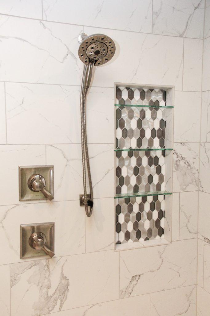 Shower Tile Anatolia Mayfair 12x24 Statuario Venato