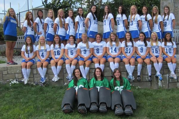 2012 Assumption College Field Hockey Roster - Assumption