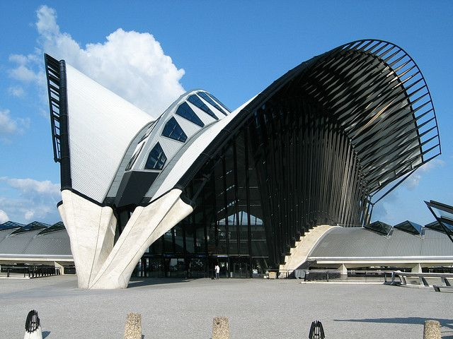90 best santiago calatrava lyon airport railway station images on pinterest santiago calatrava. Black Bedroom Furniture Sets. Home Design Ideas