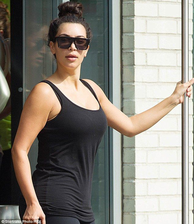 Kim Kardashian exposes bare boobs and nipples in barely