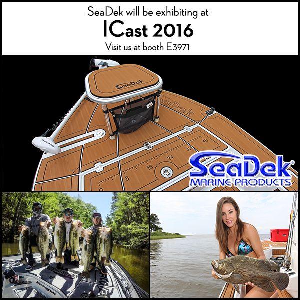 SeaDek in Booth #3971 at ICAST | SeaDek Marine Products Blog