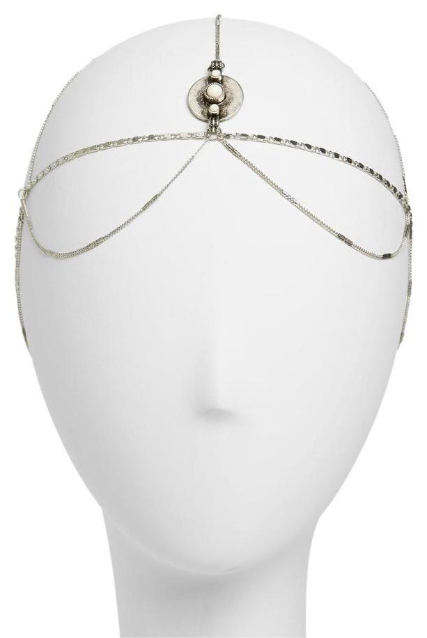 how to make goddess head chain