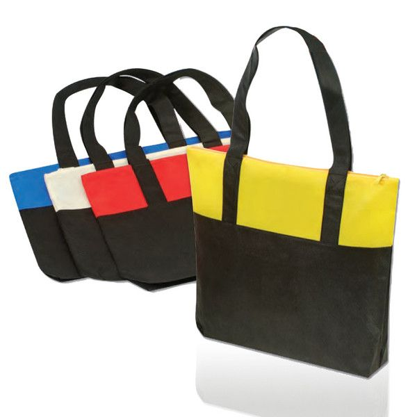 #wholesaletotebags wholesale tote bags @ketabags.com dual color stylish non woven tote bags quality tote bags