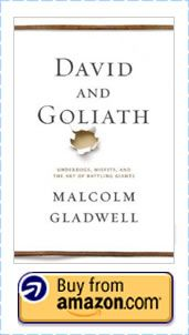 """This edition's book review is on Malcolm Gladwell's latest publication, """"David and Goliath - Underdogs, Misfits and the Art of Battling Giants"""".  His mastery in combining research with real-life stories challenges you to take a different look at difficulties and disadvantage.  Paradoxically, hardship is a desirable ingredient to success.  http://bit.ly/DavidGoliathBook"""