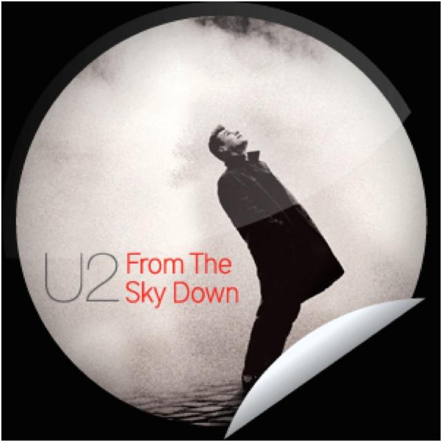 U2 documentary fan sticker
