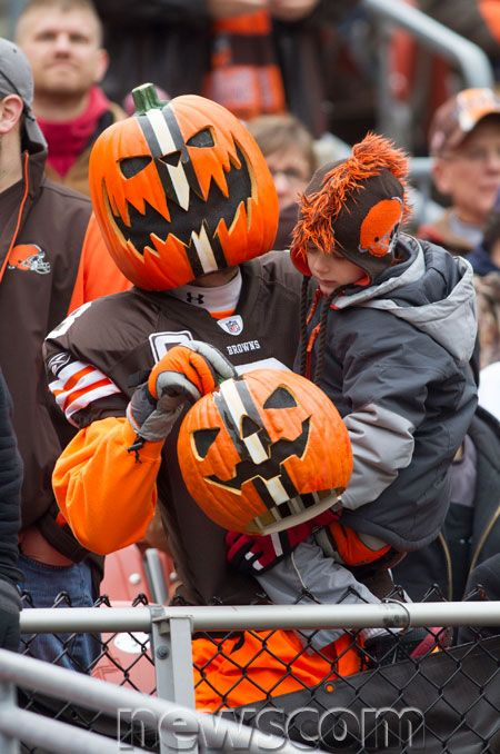 Cleveland Browns Fans | Cleveland Browns Jackolantern