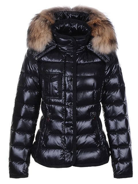 Cheap Moncler Armoise Women Black Jacket For Sale, Moncler Outlet Online