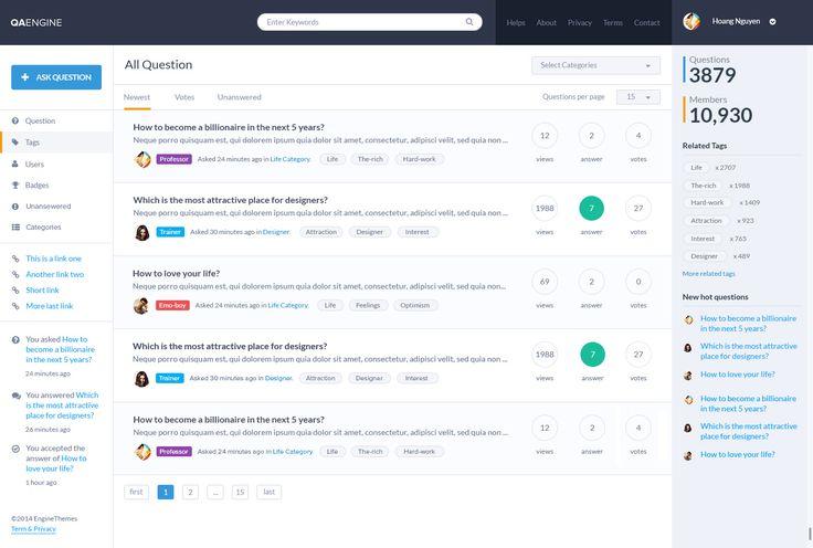 Pytania i odpowiedzi - szablon Wordpress QAEngine - http://trejka.pl/pytania-i-odpowiedzi-szablon-wordpress-qaengine/
