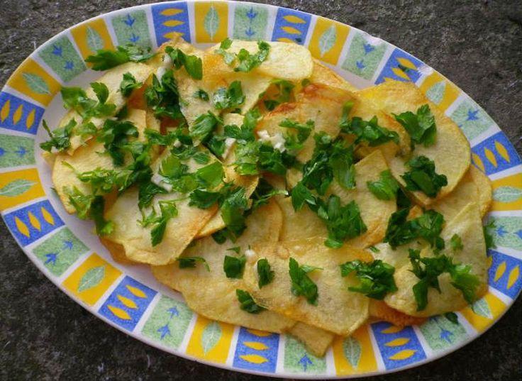 Köylü Patates (Köy Usulü Ekşili Patates Kızartması)  baliga yakisir