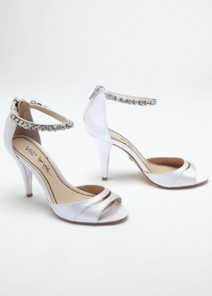 High Heel Sandal With Rhinestone Ankle Strap Style DAELYN