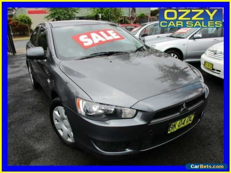 2011 Mitsubishi Lancer CJ MY11 ES Grey Automatic 6sp A Sedan #mitsubishi #lancer #forsale #australia