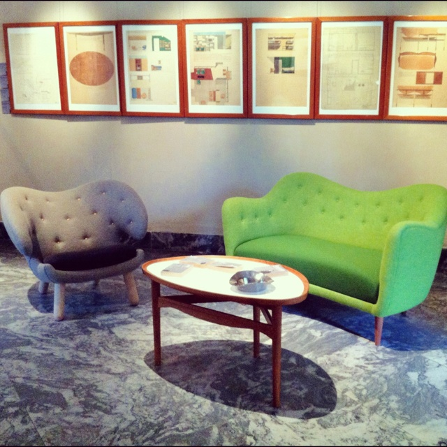 Finn Juhl furniture at the Danish Design Museum