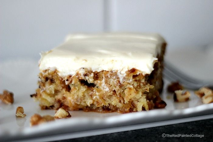 Mexican Fruit Cake, Unbelievably Moist And Oh So Good! shared at Katherines Corner